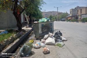 عکس/ انباشت زباله در ایذه