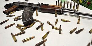 محموله جنگی توسط سربازان گمنام تیپ امام صادق(ع) بوشهر کشف و ضبط شد
