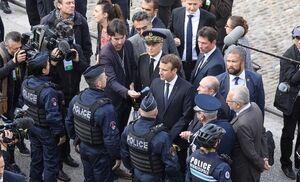 هشدار پلیس فرانسه به مکرون درباره افزایش خشونت خیابانی