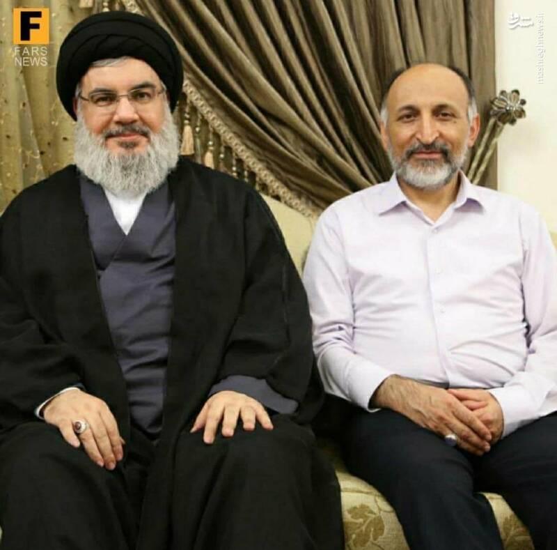 ابراز ارادت لبنانیها به سردار سیدمحمد حجازی