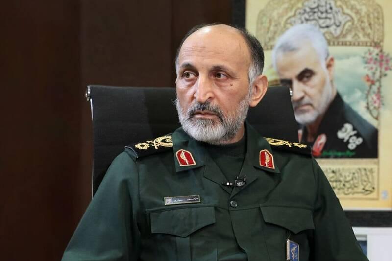 فیلم/ تشییع پیکر شهید حجازی در ستاد فرماندهی کل سپاه