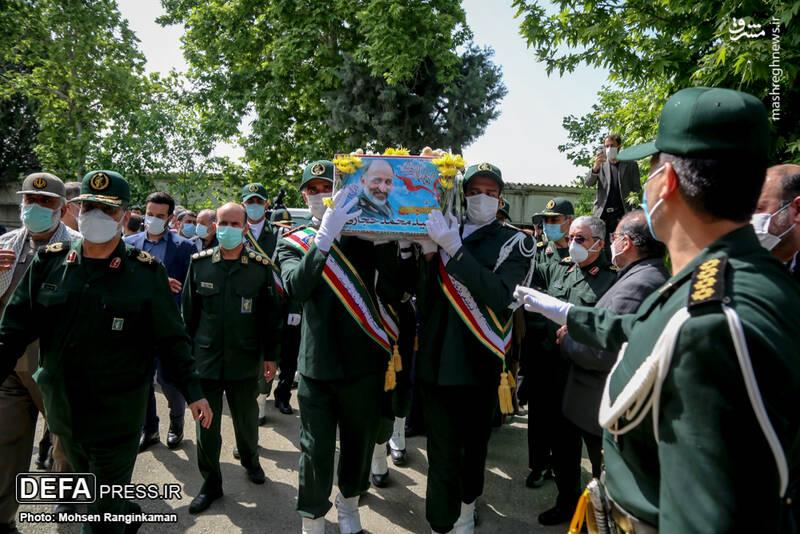 عکس/ مراسم تشییع پیکر سردار سرلشکر شهید محمد حجازی