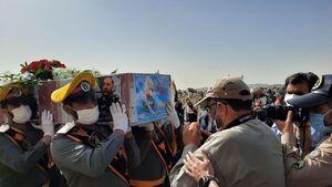 عکس/ مراسم تشییع پیکر سردار حجازی در اصفهان