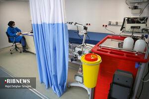 عکس/ بیمارستان صحرایی مستقر در بیمارستان مسیح دانشوری