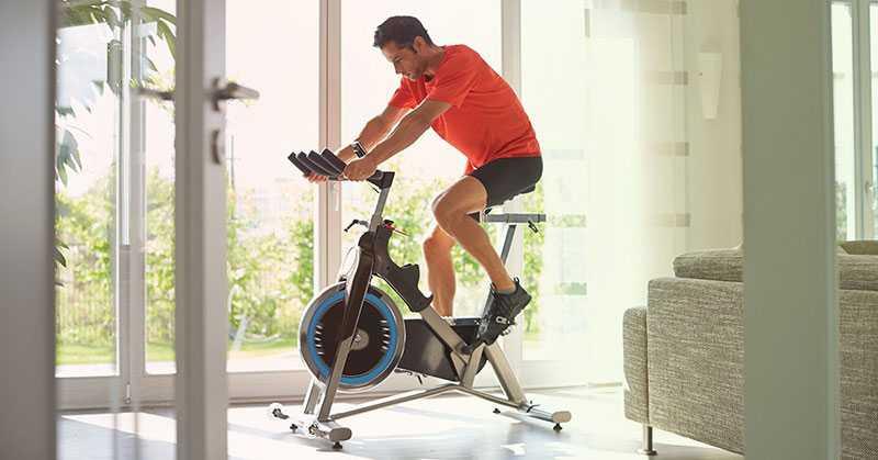 دوچرخه ثابت برای سوزاندن چربی و لاغری شکم