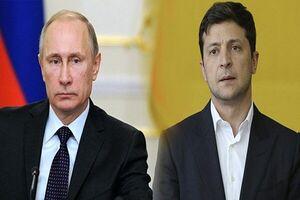 آمادگی  رئیس جمهور اوکراین برای دیدار با پوتین