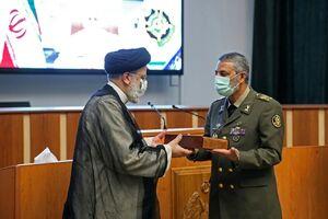 عکس/ حضور رئیس قوه قضاییه در دانشگاه فرماندهی و ستاد ارتش