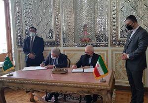 امضای یادداشت تفاهم ایجاد بازارچه های مرزی بین ایران و پاکستان