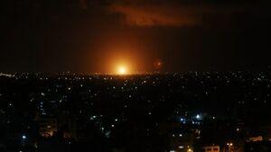 انفجار موشک در نزدیکی تأسیسات اتمی «دیمونا» در فلسطین اشغالی +فیلم