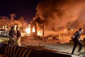 فیلم/ حمله تروریستی به هتل سفیر چین در پاکستان