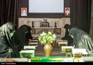 عکس/ جزءخوانی قرآن با رعایت پروتکلهای بهداشتی