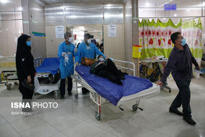 عکس/ شرایط بحرانی کرونا در بیمارستان دزفول