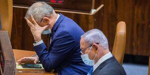واکنش وزیر جنگ اسرائیل به انفجار نزدیک دیمونا