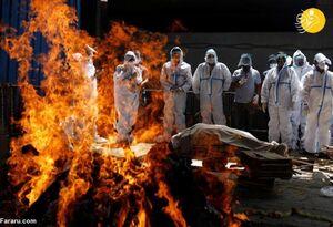 عکس/ هند در جهنم کرونایی