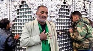 """رزمنده کهنه کار فاطمیون """"سید احمد سادات"""" به یاران شهیدش پیوست"""