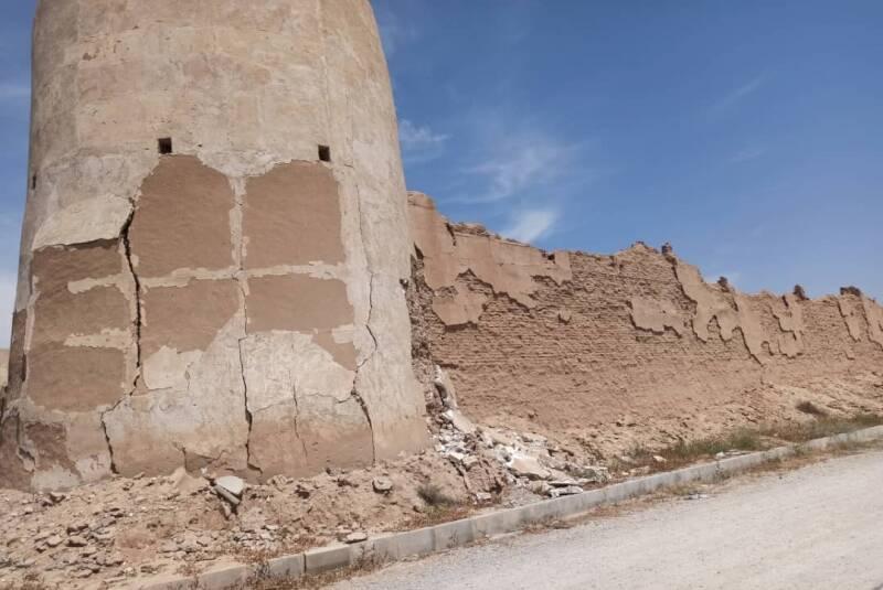 آسیب جزئی زمینلرزه به برخی از آثار استان تاریخی بوشهر