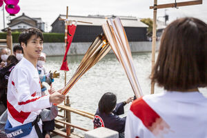 اولین ابتلا به کرونا در مراسم حمل مشعل المپیک