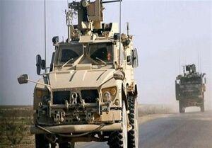ورود کاروان جدید تجهیزات نظامی آمریکا به قامشلی سوریه