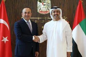 پس از ۴ سال، وزرای خارجه ترکیه و امارات گفتوگو کردند