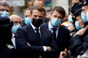 اظهارات اسلام هراسانه رئیس جمهور فرانسه