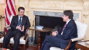 گفتگوی وزیر خارجه آمریکا و نخست وزیر اقلیم کردستان