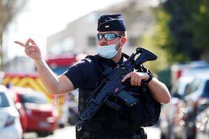 کشته شدن یک پلیس در حمله با سلاح سرد در فرانسه