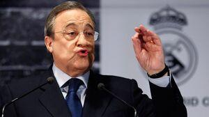 اقدام جنجالی پرس و رئال مادرید علیه رئیس یوفا+عکس