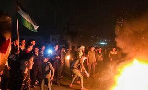فیلم/ مردم نوار غزه به خیابانها ریختند