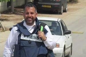 اعتصاب غذای خبرنگار اسیر فلسطینی در بازداشتگاه رژیم صهیونیستی - کراپشده