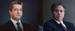 اعتراض عراقیها به گفتوگوی تلفنی بارزانی با وزیر خارجه آمریکا