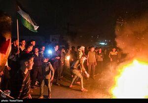 درگیری جدید نظامیان صهیونیست با جوانان فلسطینی/ ۲۰ نفر زخمی شدند