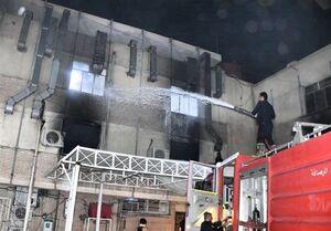 جان باختن ۲۷ بیمار کرونایی بر اثر انفجار در بیمارستان بغداد