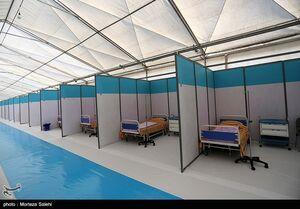 افتتاح بیمارستان صحرایی ارتش در اصفهان