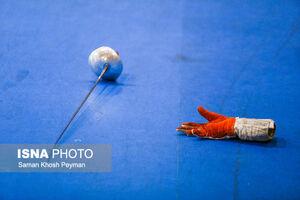 دختر شمشیرباز ایران سهمیه المپیک نگرفت