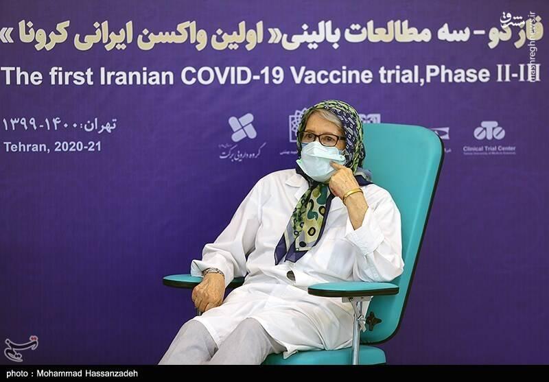 دلیل تاخیر در تولید واکسن ایرانی از زبان مینو محرز