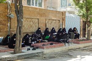 عکس/ عطر قرآن در کوچه های کرمانشاه
