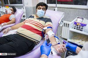 عکس/ اهدا خون ویژه ماه رمضان در یزد