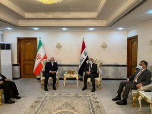 عکس/ دیدار وزرای خارجه ایران و عراق