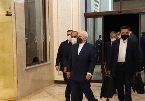 دیدار ظریف با شخصیتهای برجسته اهل تسنن و برخی از سران عشایر عراق