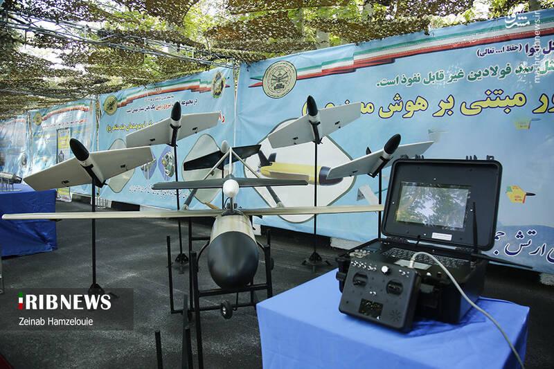 ارتش به لبه تکنولوژی جهانی «پهپادهای انتحاری دارای هوش مصنوعی» رسید/ «یورش فوجی» پهپادهای ایرانی از زمین به آسمان رفت +عکس