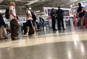 فیلم/ کتککاری در فرودگاه میامی آمریکا