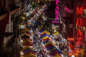 عکس/ بازار کوالالامپور را از بالا ببینید