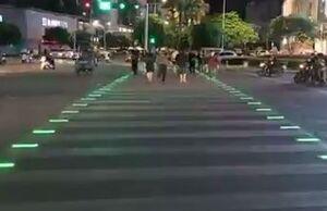 فیلم/ نوآوری جالب در خطور عابر پیاده