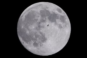 عکس/ پدیده دیدنی ابر ماه در جهان
