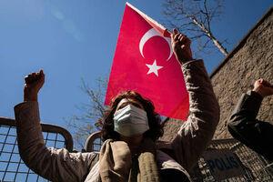 فیلم/ سرکوب مخالفان اردوغان