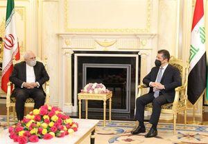 تأکید ظریف و مسرور بارزانی بر عدم اجازه به اقدامات ضد ایرانی در کردستان عراق