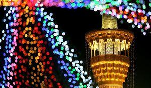 فیلم/ نقاره شادی میلاد امام حسن مجتبی(ع) در حرم رضوی