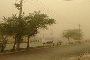 آسمان خوزستان خاکی شد