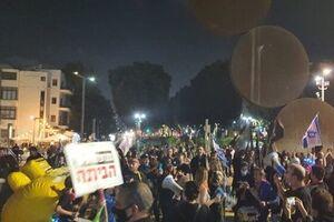 فیلم/ شورش صهیونیستها علیه نتانیاهو