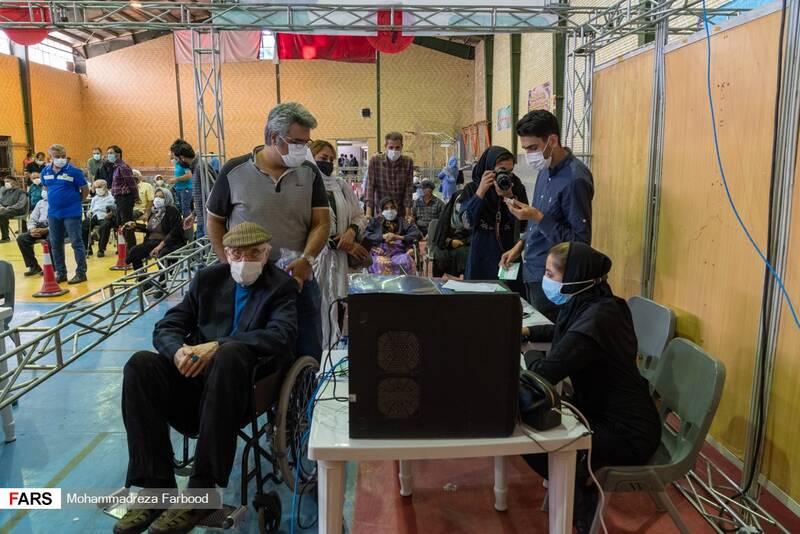 واکسیناسیون سالمندان و بیماران خاص در شیراز
